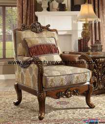 Homey Design Hd-1601 World Accent Chair