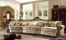 Homey Design Hd-1608 World Mansion Sofa