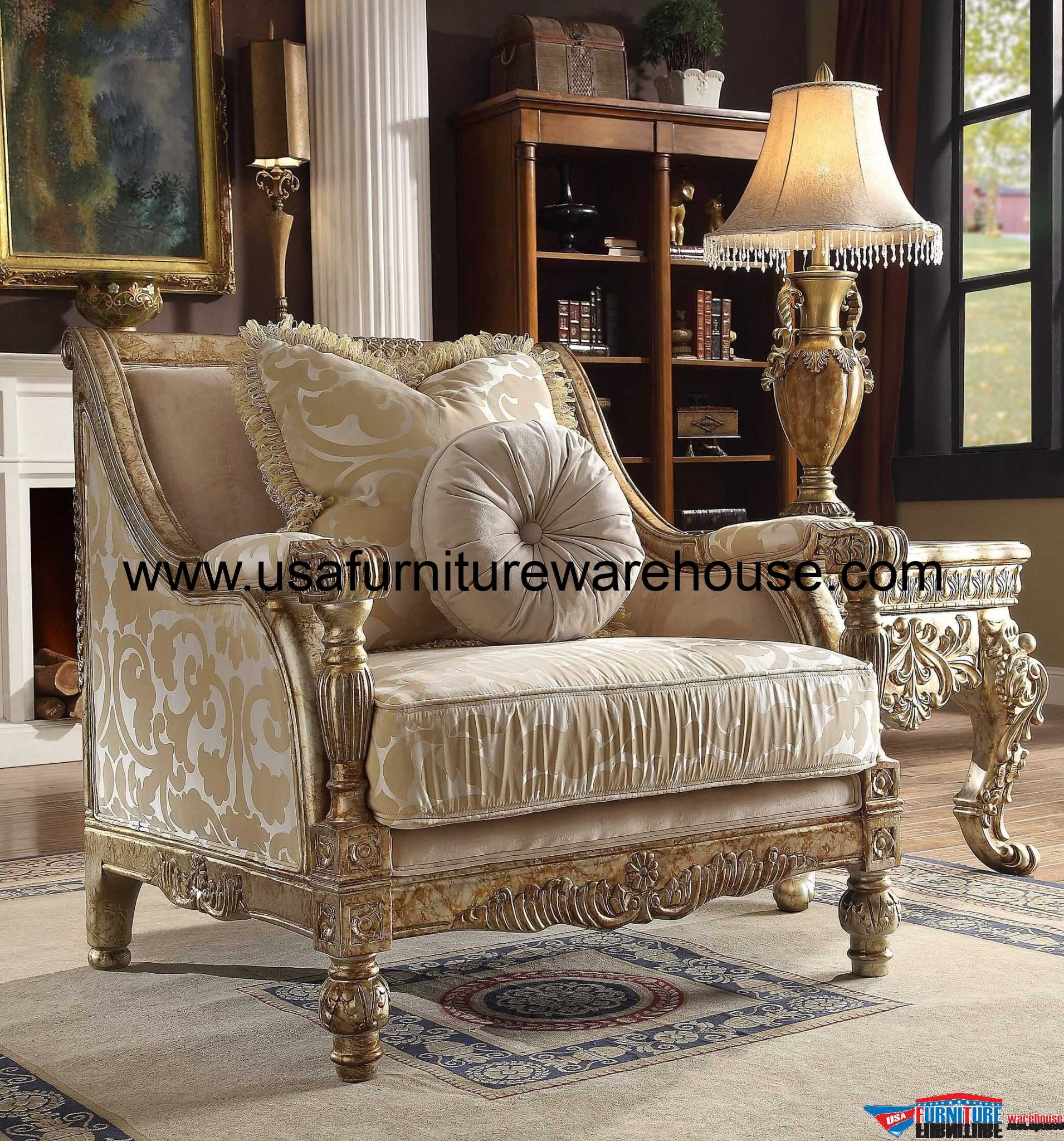 chair design gold best office for back support 2018 homey hd 205 wood trim antique