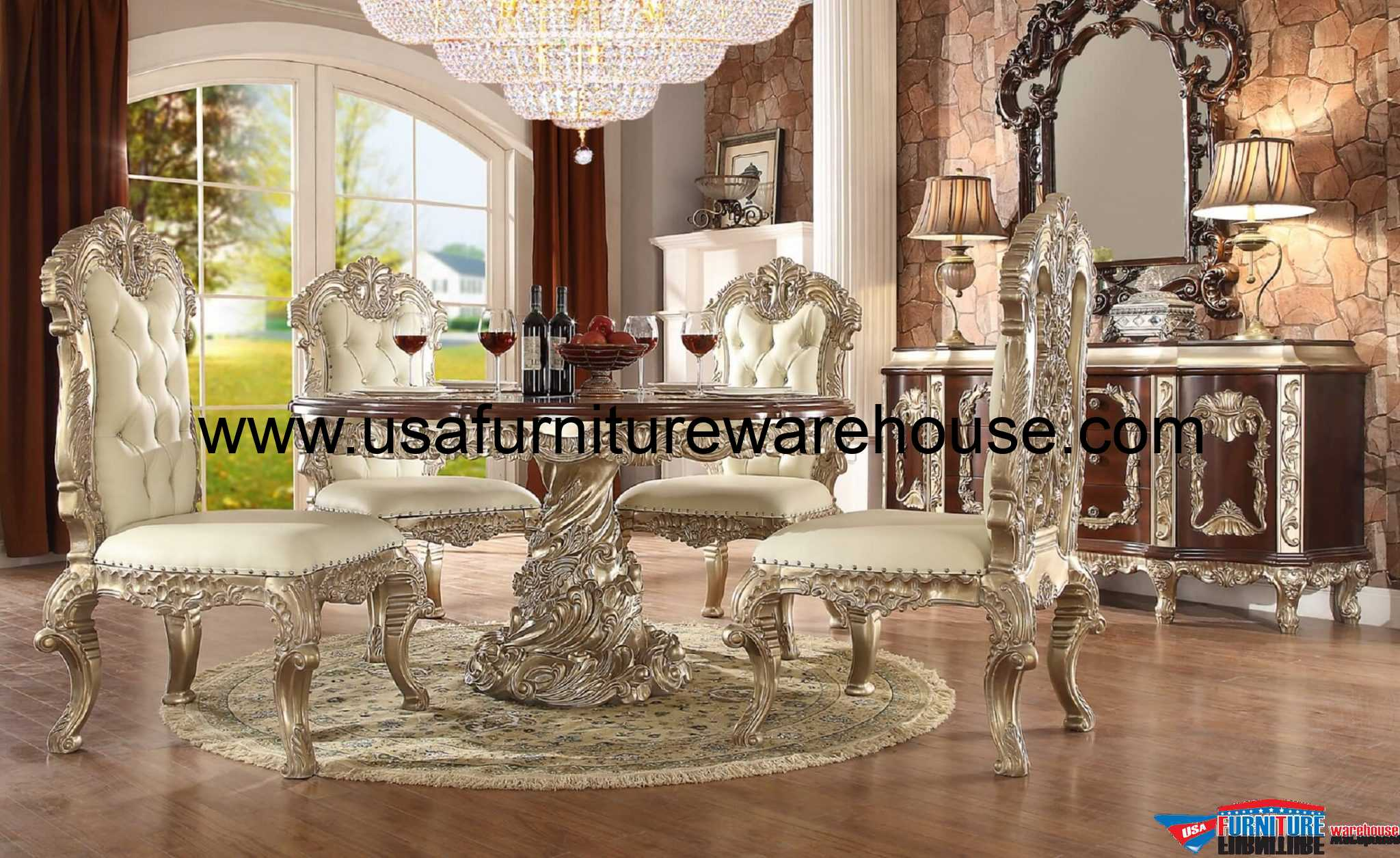 rugs for living room in home goods storage units homey design hd-8017 cleopatra round dining set