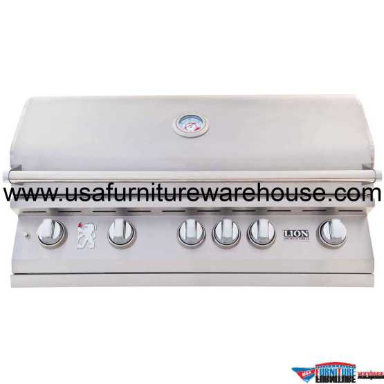Lion - L90000 40-Inch 5 Burners Premium Grills