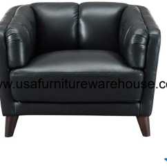 Full Grain Leather Chair Folding Covers Black Frances Top