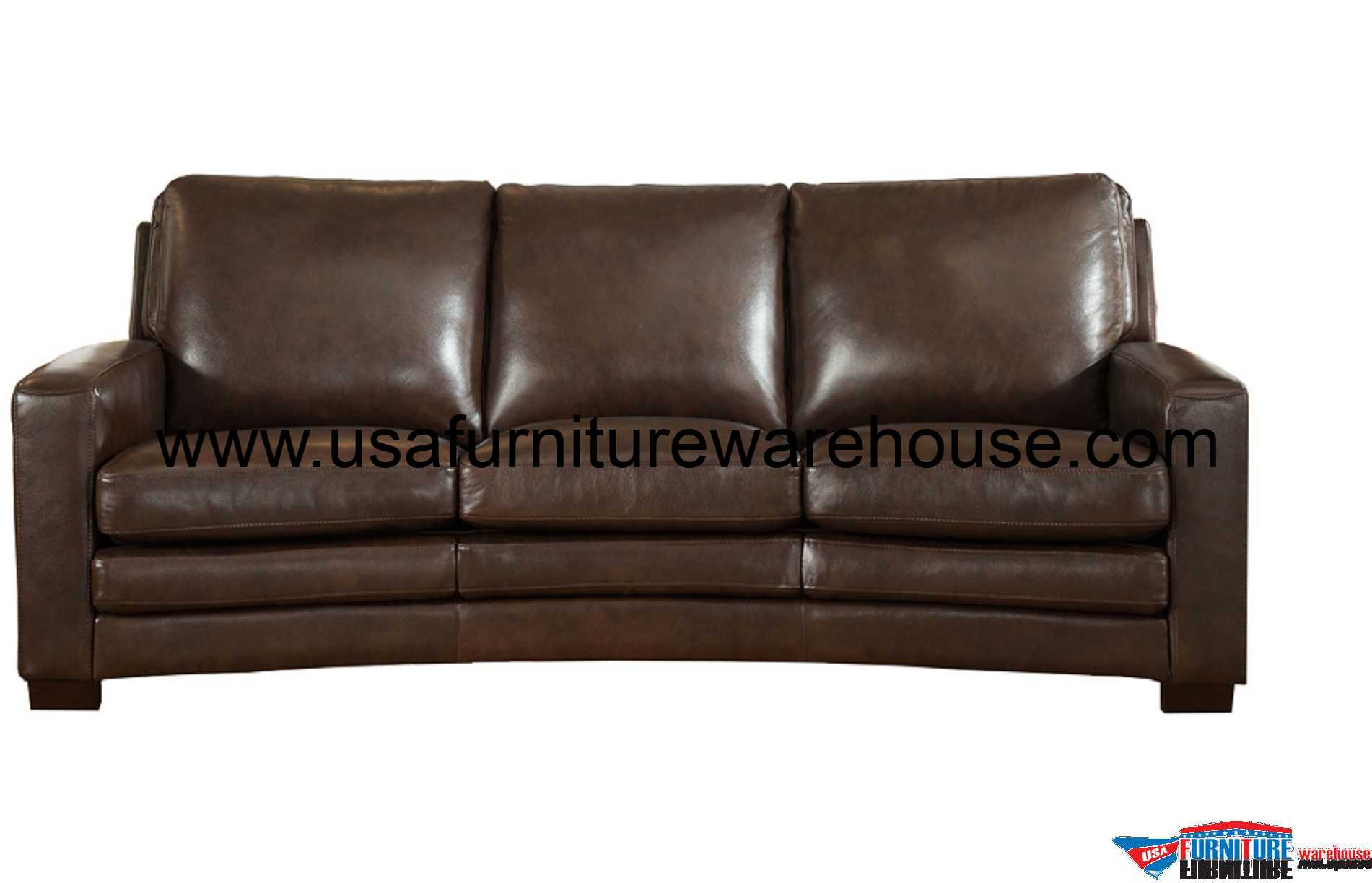 leathers sofa cheap 2 seater bed joanna full top grain dark brown leather