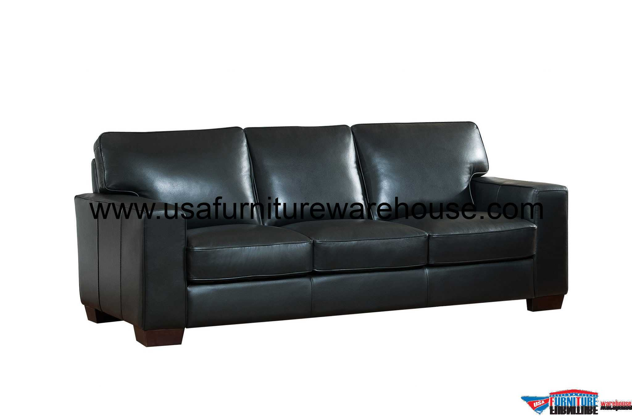 leather sofa outlet lazio power motion kimberlly full top grain black usa