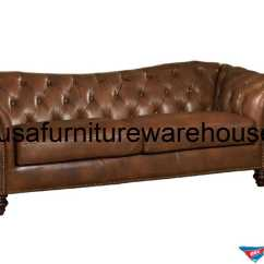 Brown Color Leather Sofa With Lights Under It Furniture Designs Single