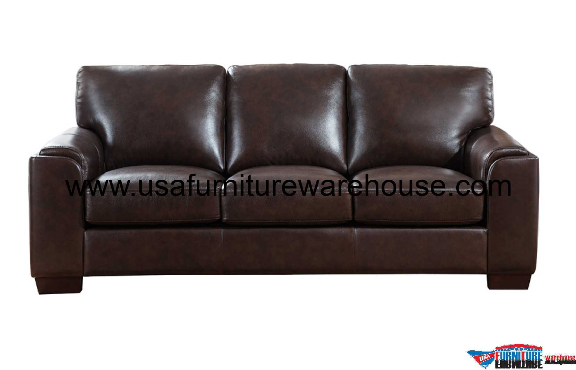 dark brown leather chair padded stack chairs suzanne full top grain sofa