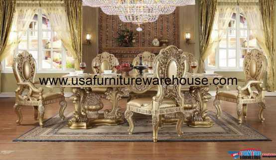 Homey Design HD-8016 Dining Set