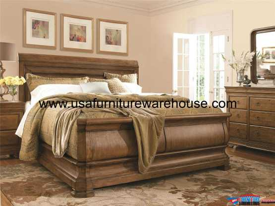 4 Piece New Lou Sleigh Bedroom Set