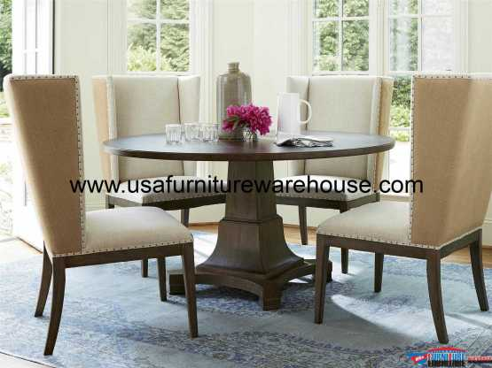 5 Piece Playlist Round Dining Set