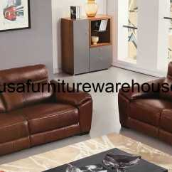 Italian Leather Recliner Sofa Set New Cushion Covers For Forma Full Brown Power Loveseat