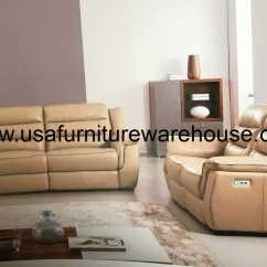 Italian Leather Recliner Sofa Set Sale Houston Lago Full Tan Power Loveseat