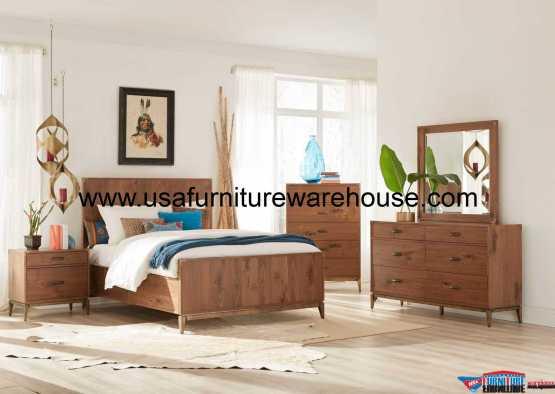 Modus Furniture Adler Panel Bedroom Set