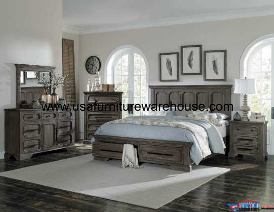 Toulon Storage Bedroom Set