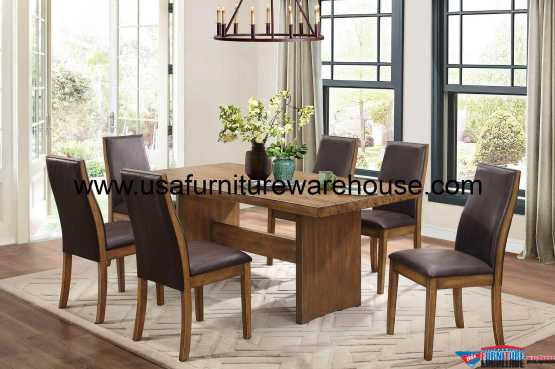 Tod Casual Solid Wood Dining Set