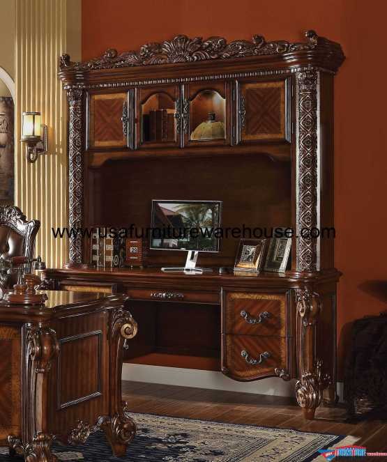 Vendome Desk & Hutch