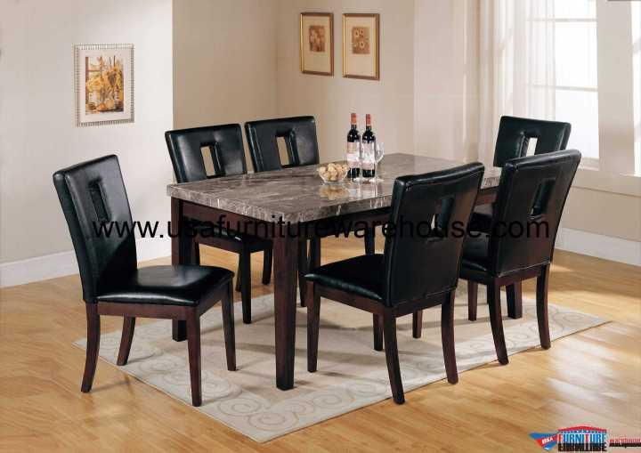 7 Piece Acme Danville Dining Set