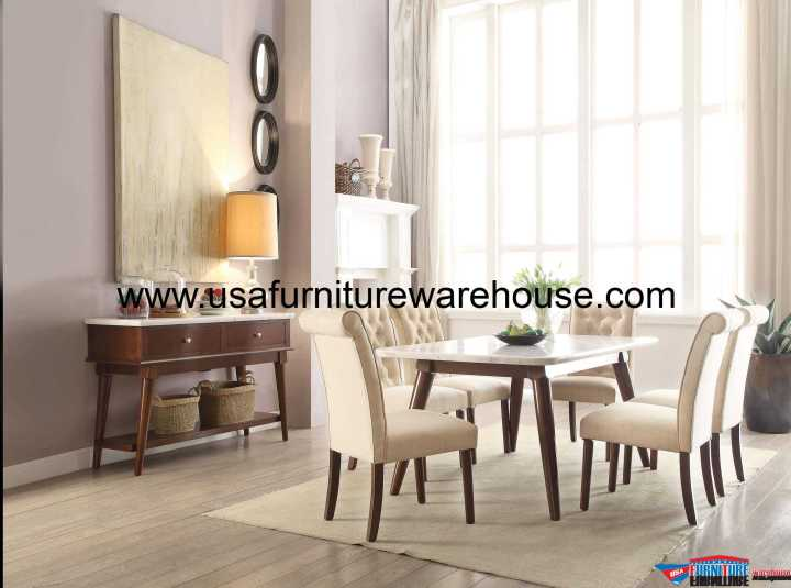 7 Piece Acme Gasha Dining Set