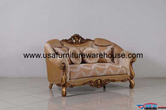 Golden Knights Luxury Loveseat