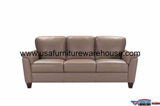 Belfast Leather Sofa