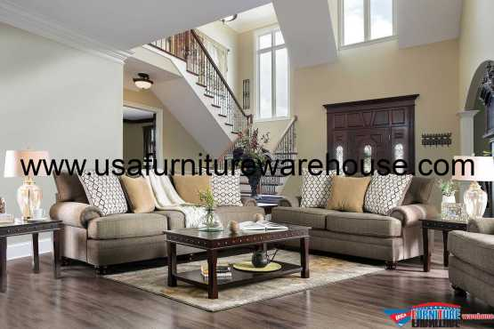2 Piece Augustina Sofa Set