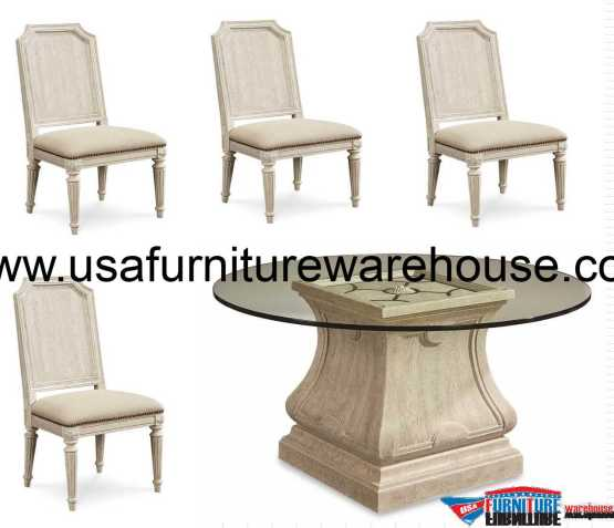 Arch Salvage Leoni Dining Set