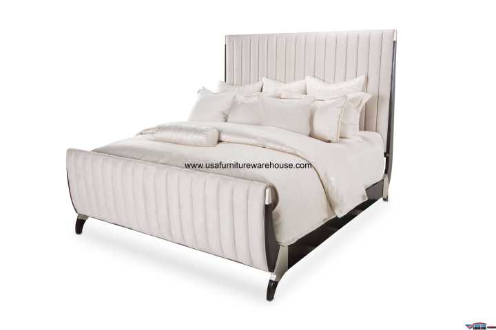 Paris Chic Sleigh Bed
