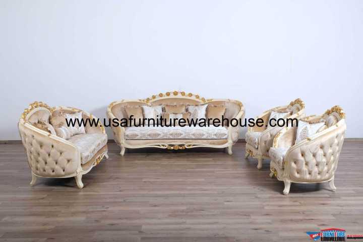Valentine II Luxury Sofa Set