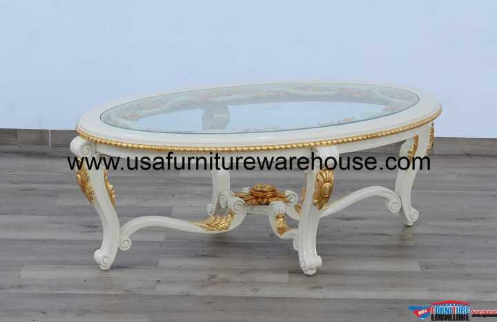 Valentine Luxury Oval Coffee Table