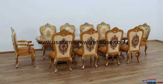11 Pieces St. Germain Dining Set