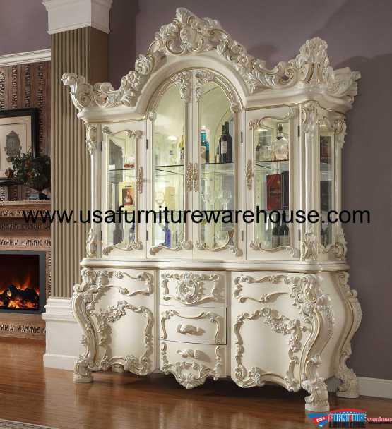 Homey Design HD-8089 China Cabinet