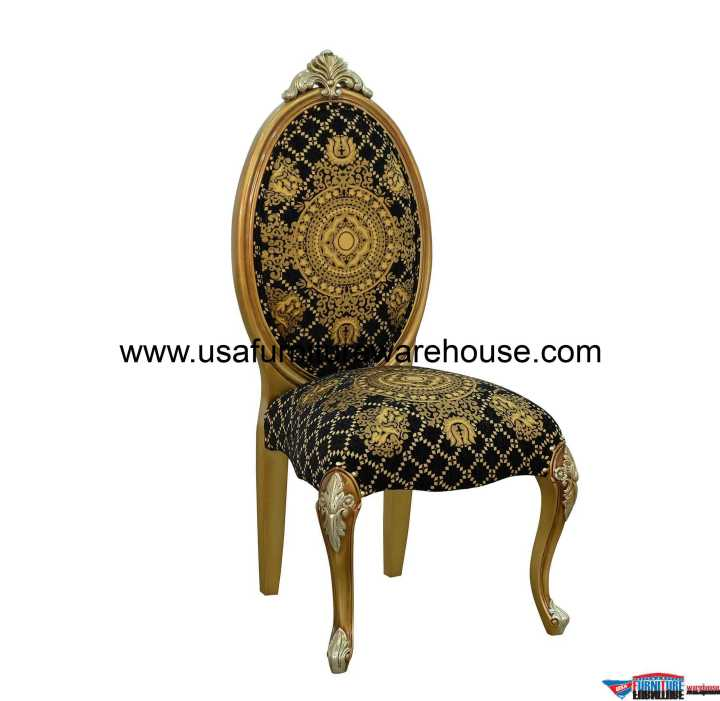 European Furniture Emperador Dining Side Chair