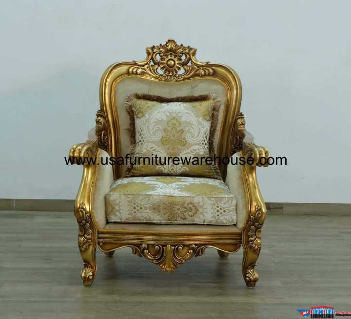 Bellagio Matching Chair Damask Fabric