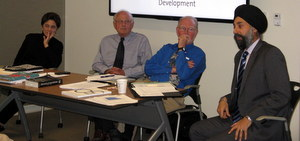 Innovation in India Panel: Liz Warfield, Owen Cylke, Gary Merritt, Manpreet Singh