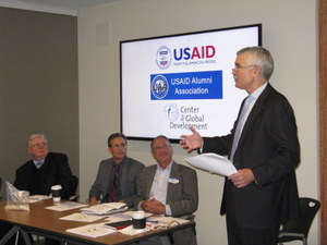 Agriculture Panel: Jim Riordan, Mark Huisenga, John Westley, Rob Bertram