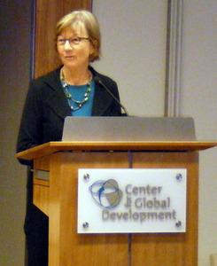 Nancy Birdsall, CGD