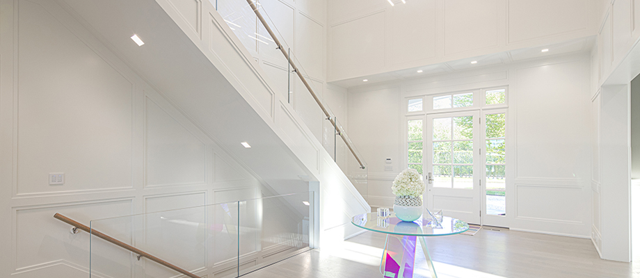 led recessed lighting for sloped