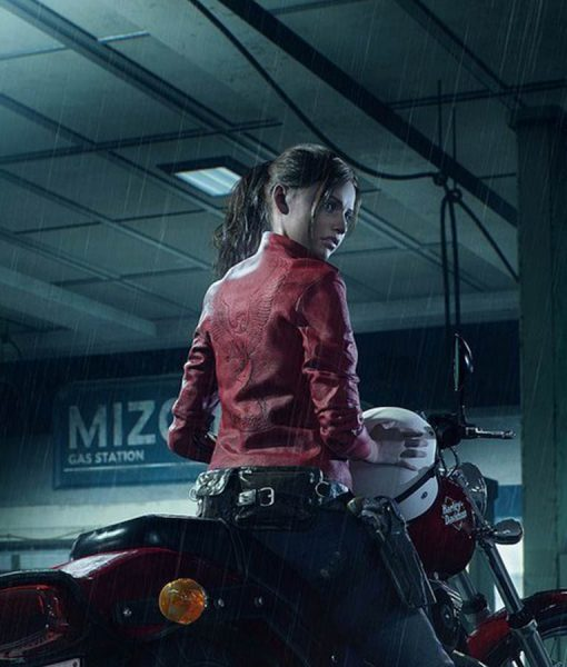 Wallpaper Zombie Girl Video Game Resident Evil 2 Remake Claire Redfield Leather