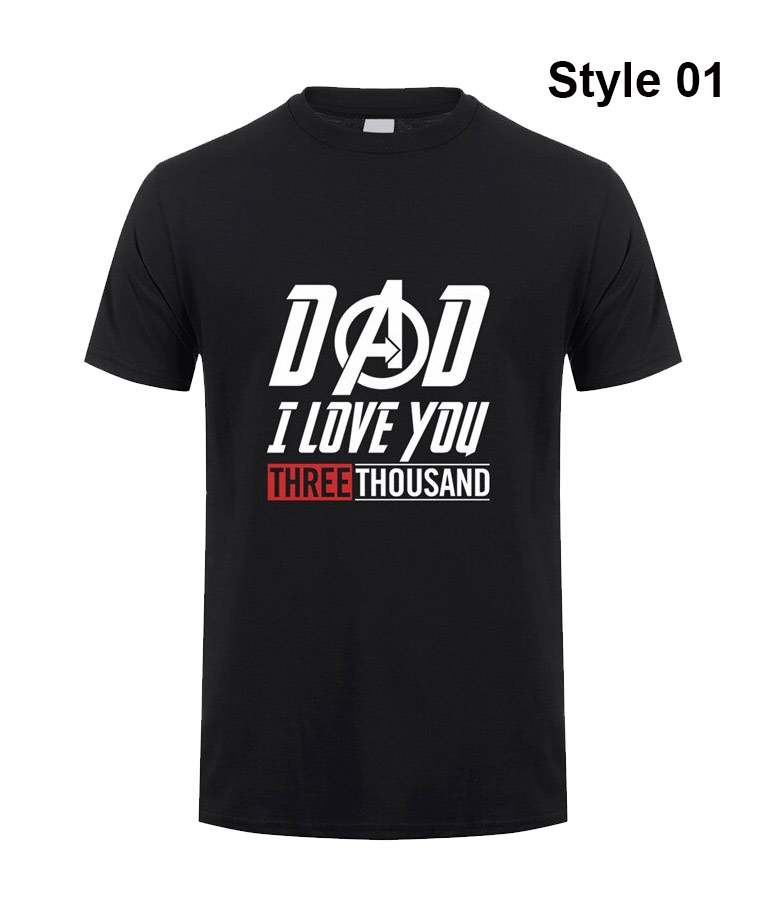 Download Iron-man Dad I Love You Three Thousand Time Avengers ...