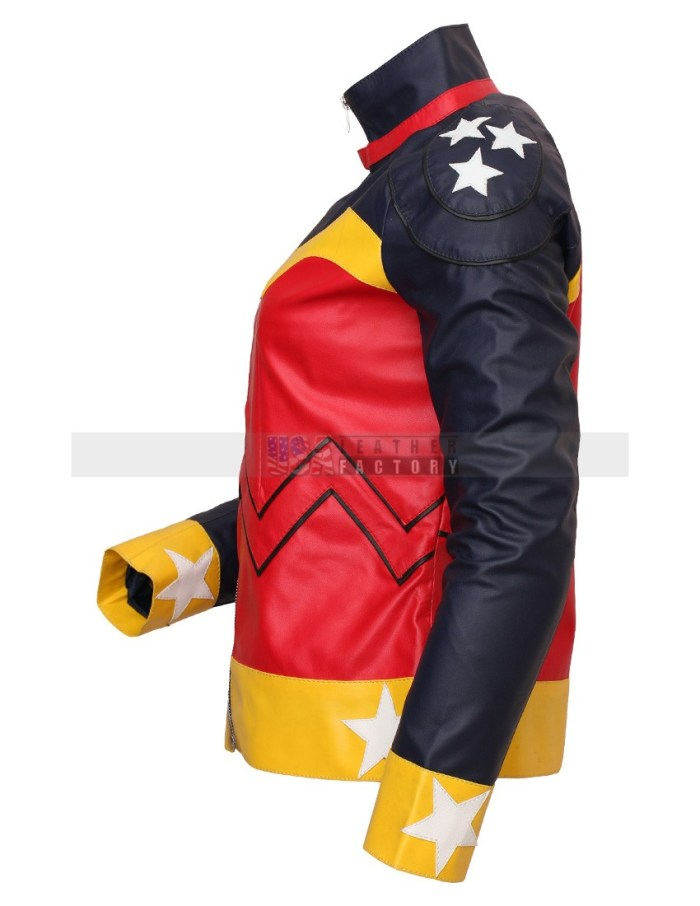 DC Comics Wonder Women Celebrity Leather Jacket