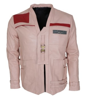 Finn Leather Pink Jacket