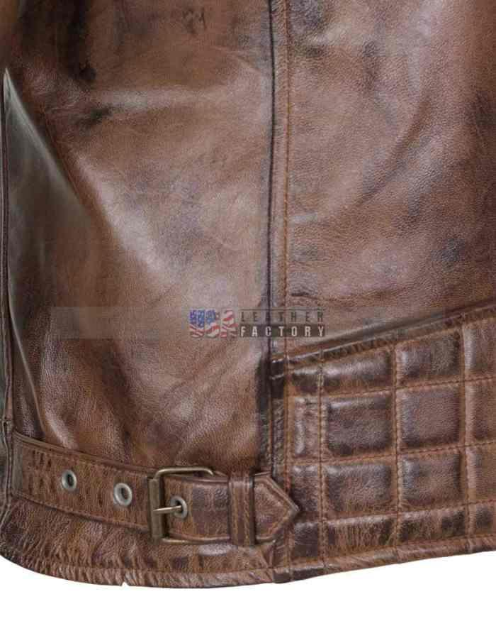 Designer Brando Leather Jacket