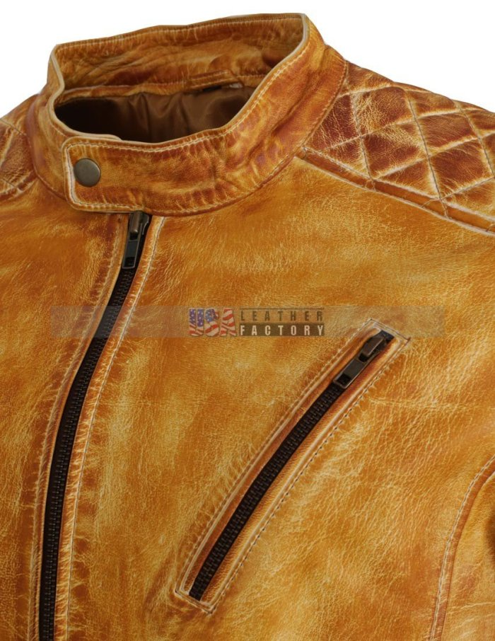 Men's Designer Leather Jacket