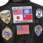 Top Gun Tom Cruise Pete Maverick Leather Jacket Buy Now