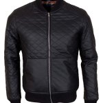 Men's Casual Square Deluxe leather jacket
