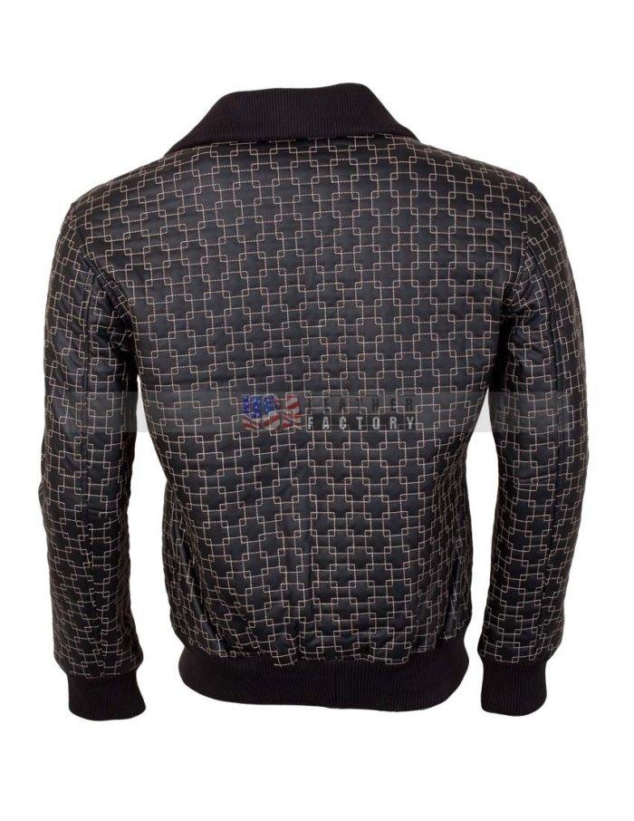 Black Designer Leather Jacket