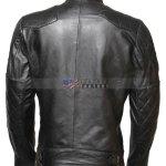 David Beckham Leather Jacket For Bikers Sale Free Shipping Online Men