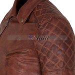 Designers Brown Motorcycle Leather Jacket