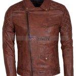 Designers Men Brando Motorcycle Leather Jacket