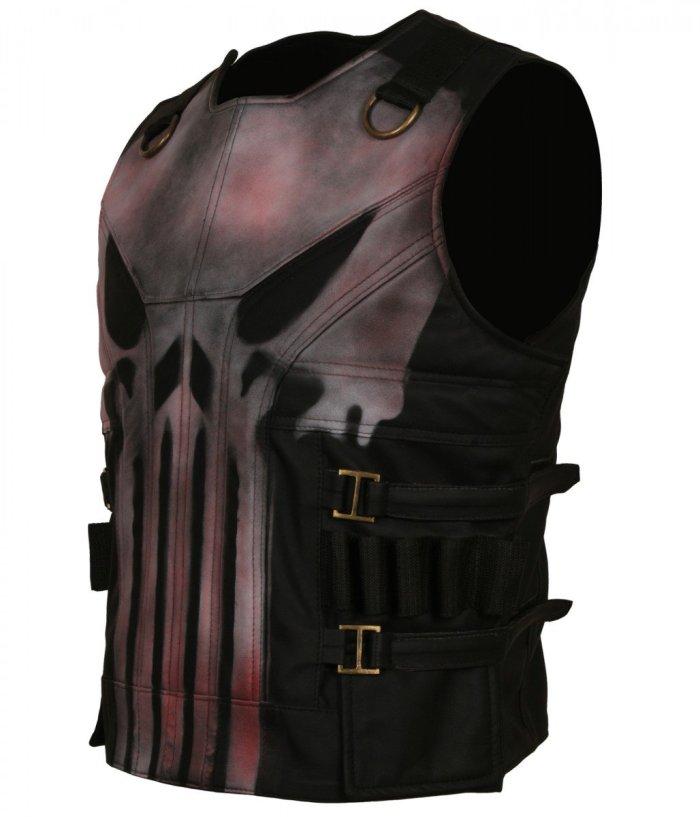 Punisher Season 2 Leather Vest