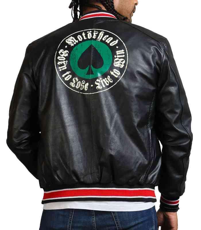 Motorhead Live To Sin Leather Black Jacket